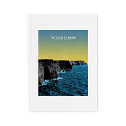 Jando  Cliffs Of Moher Small Print A4