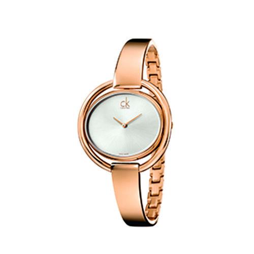 Calvin Klein K4F2N616 Impetuous Bangle Watch Ladies Rose Gold