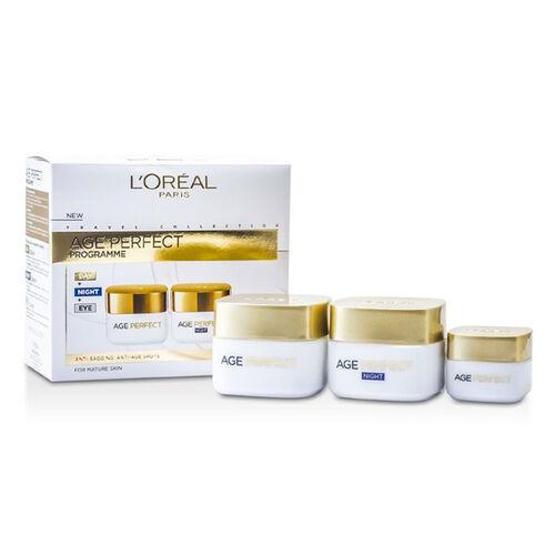 L'Oreal Paris Age Perfect Program Day + Night + Eye Cream