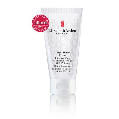 Elizabeth Arden Eight Hour Cream  Intensive Daily Moisturizer for Face Spf 15 PA++ 50ml