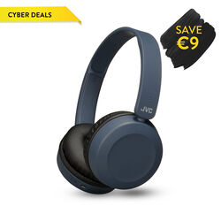 JVC Bluetooth on ears Headphone  Blue