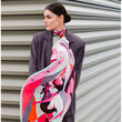 Debbie Millington Harlequin Dancers Silk Scarf  136cm