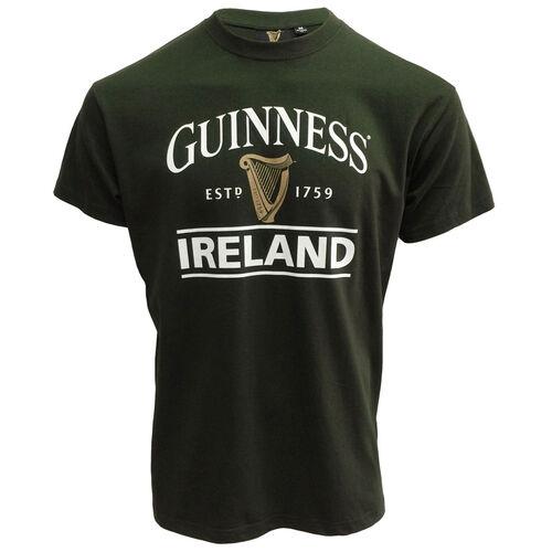 Guinness Guinness Green T-Shirt With Harp Logo