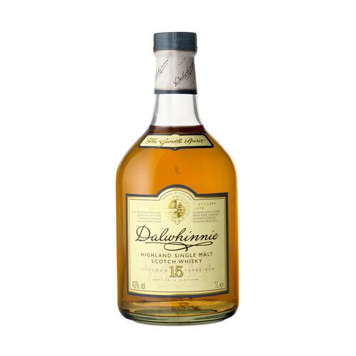 Dalwhinnie 15 YO Single Malt Scotch Whisky  1L