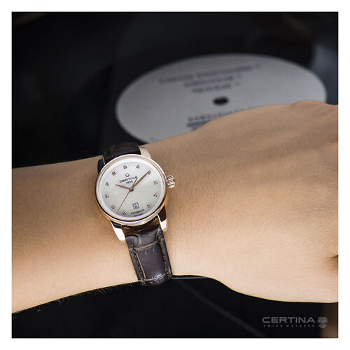 Certina C0010073611600 Ds Podium Lady Watch Automatic White 29mm