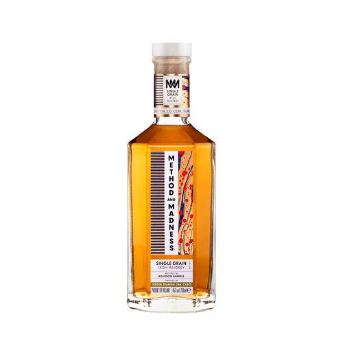 Method & Madness Irish Whiskey Single Grain 70cl