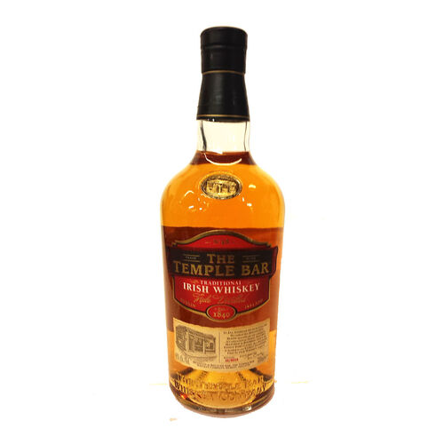 The Temple Bar Blended Irish Whiskey 70cl