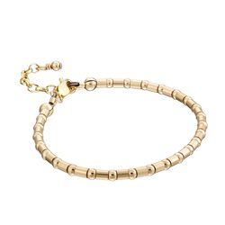 Scribble and Stone 14kt Gold Fill Crimp Bead Bracelet