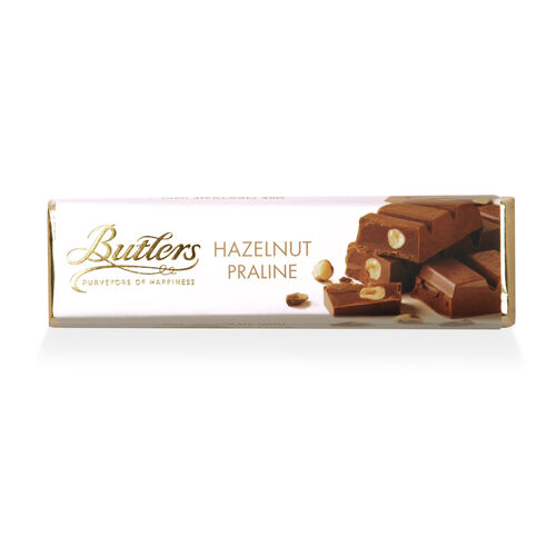 Butlers 75g Milk Hazelnut Praline Chocolate Bar