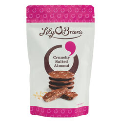 Lily O Briens Crunchy Salted Almond Share Bag