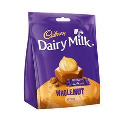 Cadbury Wholenut Bag  200g