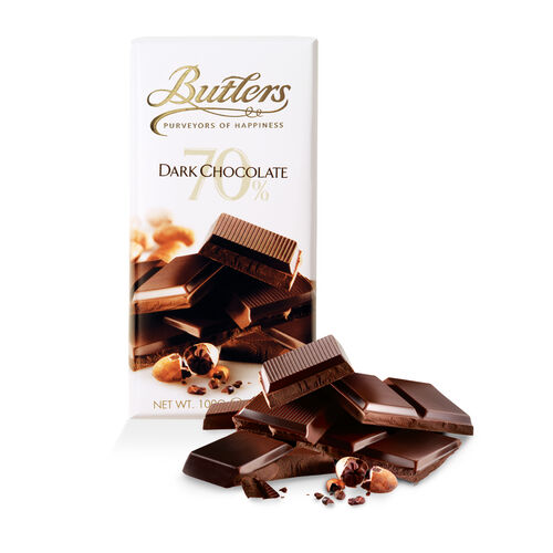 Butlers 100g 70% Dark Chocolate Bar