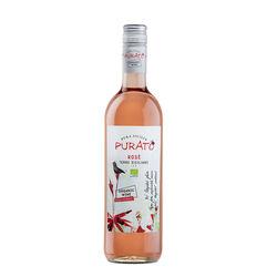 Purato Nero d'Avola Organic Rose Wine IGP 75cl