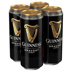 Guinness Draught Pack Beer  4 x 500ml