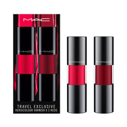MAC Versicolour Varnish  Travel Exclusive x2 Reds