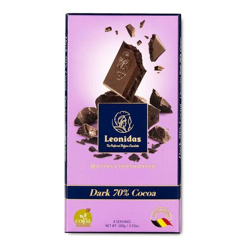 Leonidas Dark Chocolate 70% Tablet 100g