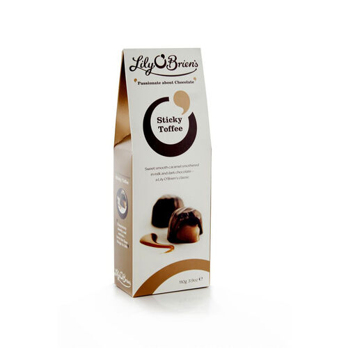 Lily O Briens Sticky Toffee Pouch 110g