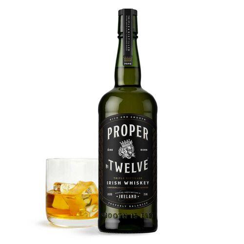 Proper Twelve Irish Whiskey  70cl