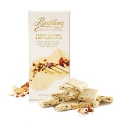 Butlers 180g White Salted Almond & Butterscotch Bar