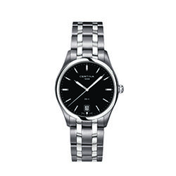 Certina C0224101105100 Ds 4 Gent Watch Black 38mm