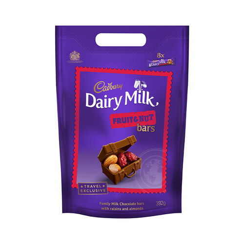 Cadbury Cadbury Dairy Milk Fruit & Nut Count Pouch  392g