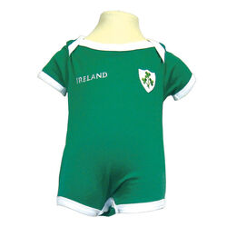 Traditional Craft Kids Lansdowne Green Ireland Baby Vest