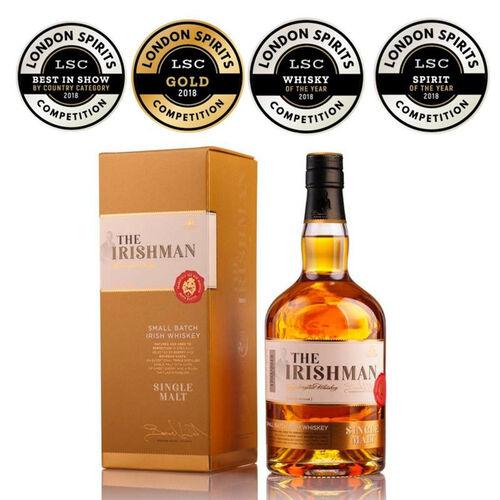The Irishman Single Malt Irish Whiskey 70cl