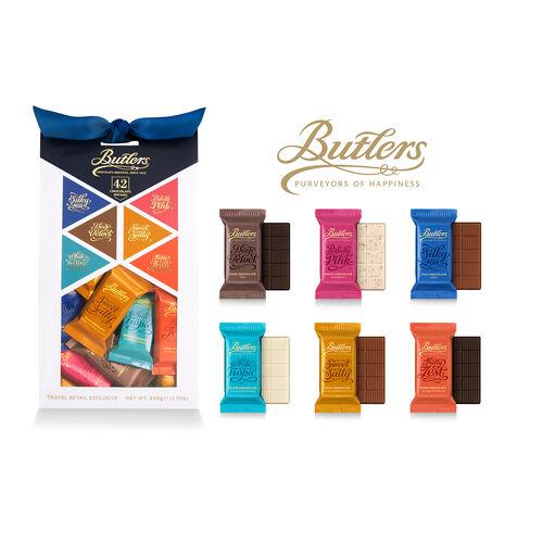 Butlers 530g Medium Mini Chocolate Bar Pack