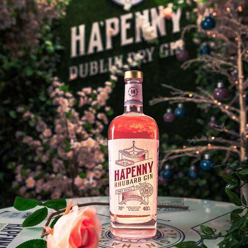 Ha'Penny Rhubarb Gin  40% ABV