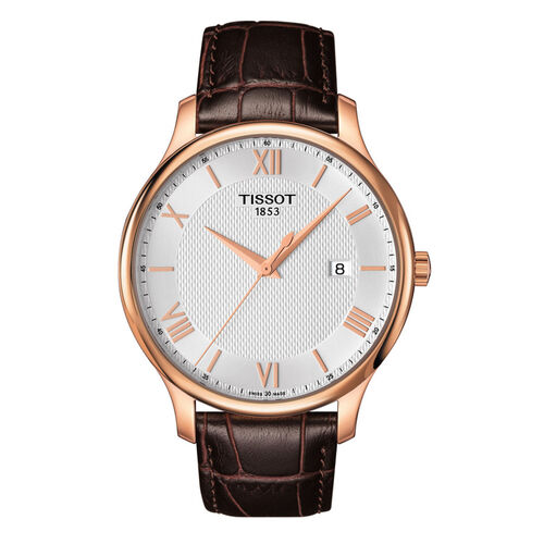 Tissot T0636103603800 Tradition Silver Dial 42mm