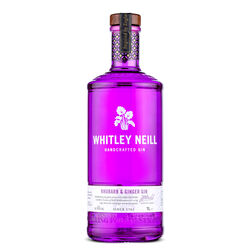 Whitley Handcrafted Rhubarb & Ginger Gin 1L