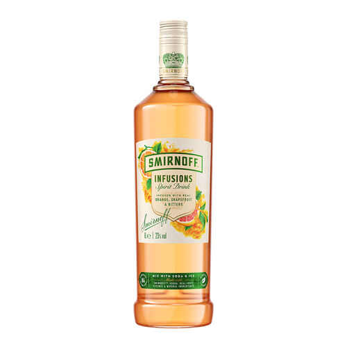 Smirnoff Smirnoff Infusions Orange Grapefruit & Bitters 1L
