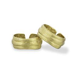Inner Island Strata Ring Gold