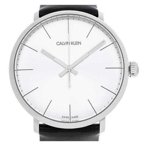Calvin Klein K8M211C6 High Noon Leather Watch Men Black