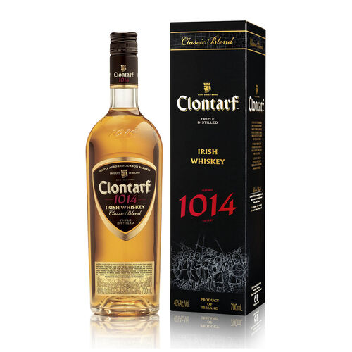 Clontarf Clontarf Black Irish Whiskey  1L