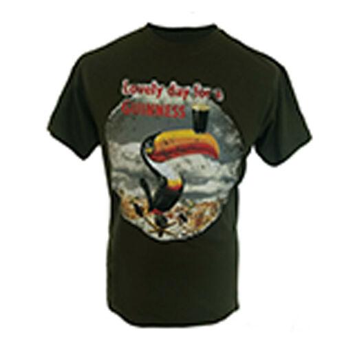Guinness  Khaki Lovely Day Toucan T-Shirt