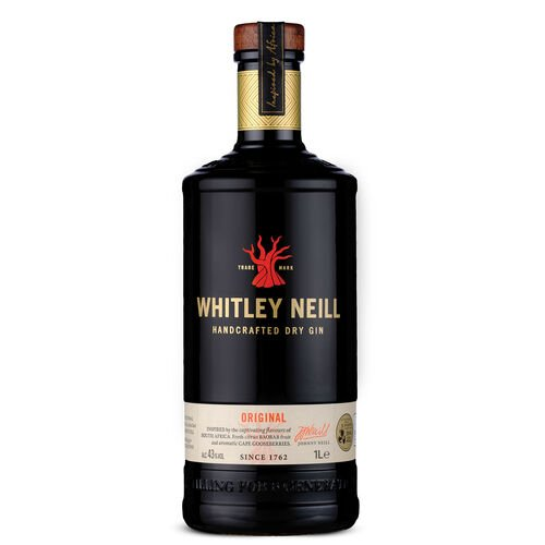 Whitley Handcrafted Dry Gin  1L
