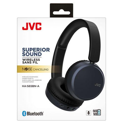 JVC On Ear Bluetooth Noise Cancelling Headphone   Blue