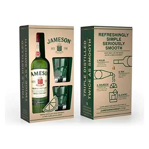 Jameson Jameson Glass Pack Blend Irish Whiskey 70cl