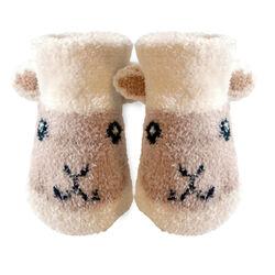 Patrick Francis Cream Baby Sheep Booties