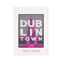 Jando  Dublin Town Trinity College Small Print A4