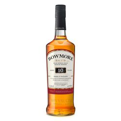 Bowmore 10yr 'Dark & Intense'  1L