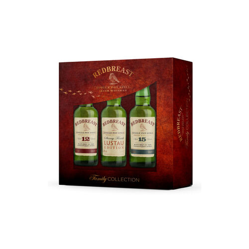 Redbreast Redbreast Family Gift Pack 3x5cl
