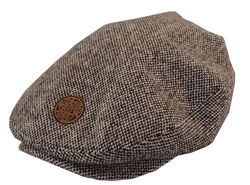 Patrick Francis Traditional Wool Mix Flat Cap
