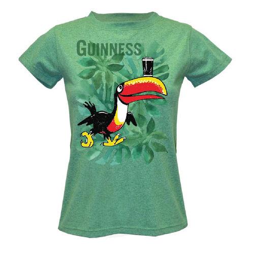 Guinness Kids White And Green Shamrock Socks