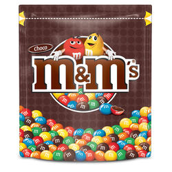 M&M Chocolate Pouch  250g