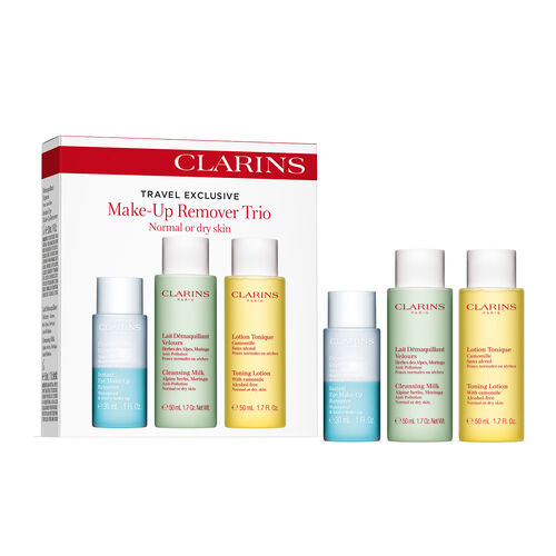 Clarins Make-Up Remover Trio  Normal To Dry Skin 50ml