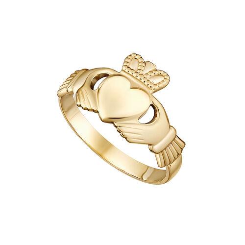 Solvar 14K Maids Claddagh Ring/04