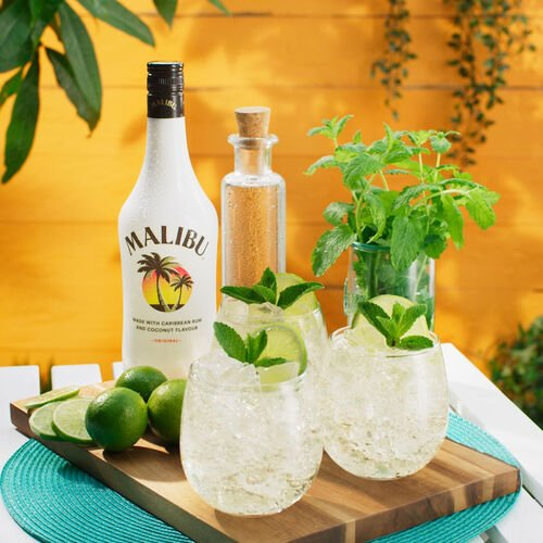 Malibu Rum Caribbean Original 1L Original 1L Bottle