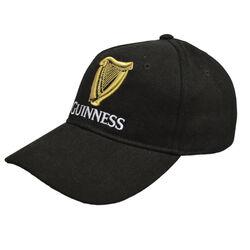 Guinness Guinness Black Baseball Cap With Gold Logo